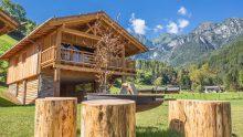 Un ecoresort in legno in Trentino