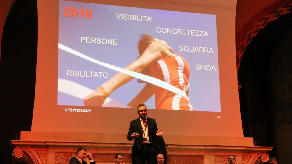 Massimiliano Bianchi, Direttore Generale di Cromology Italia