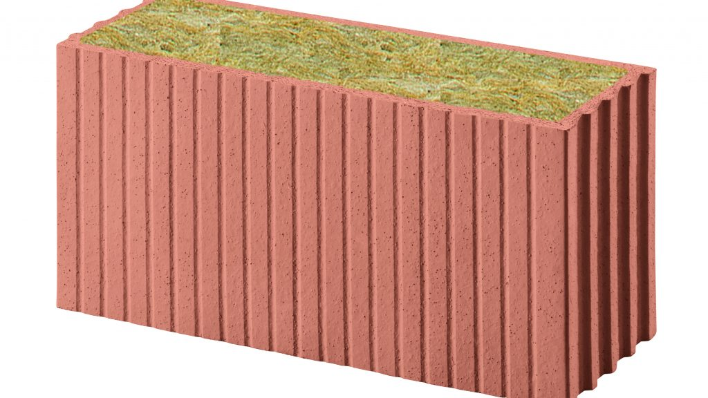 Porotherm PLANA+ Revolution, lana di roccia