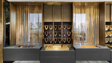 Piuarch per Amber&Art, la boutique è un tributo all'ambra