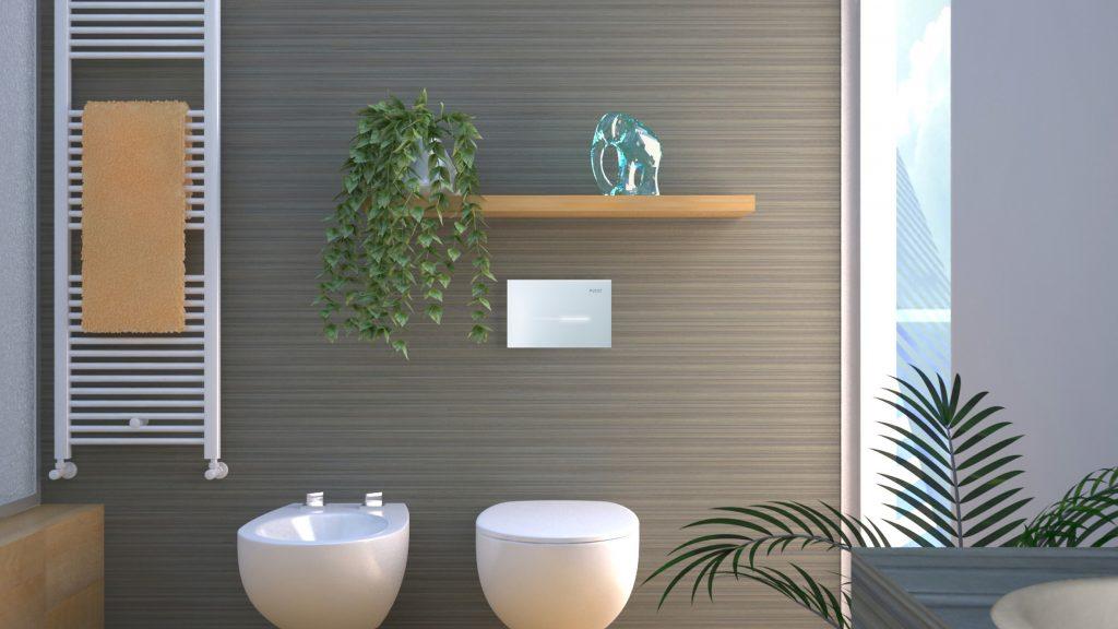 oltre la funzionalit il design e la bellezza uninterfaccia intelligente che mette in contatto la persona e la stanza da bagno
