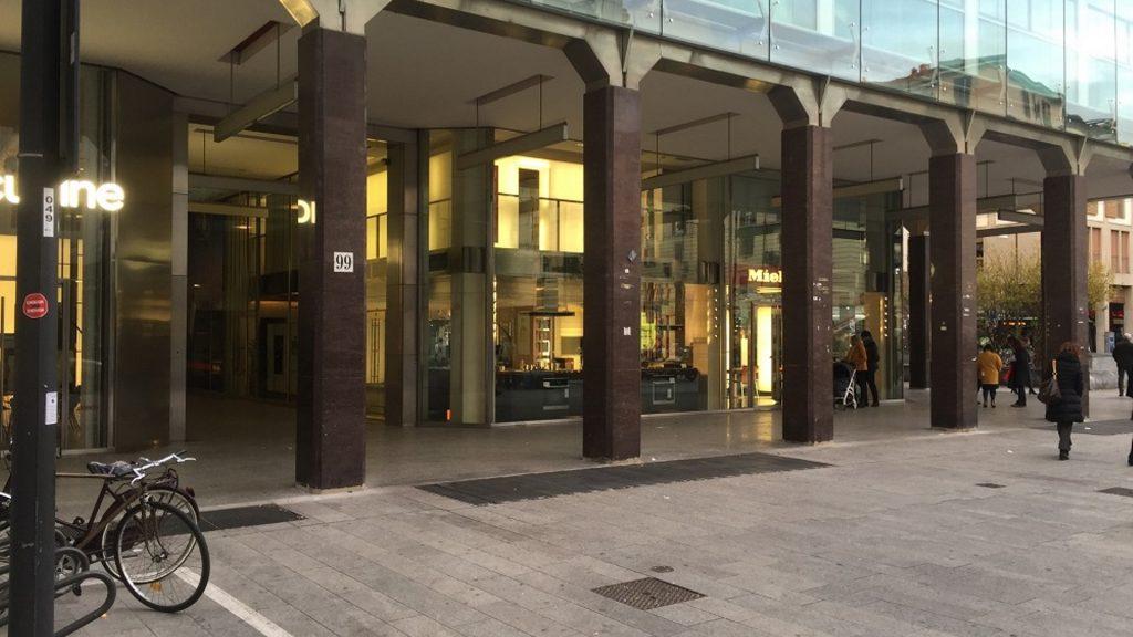 La Galleria commerciale di Corso Garibaldi 99 a Milano, oggetto dell'intervento