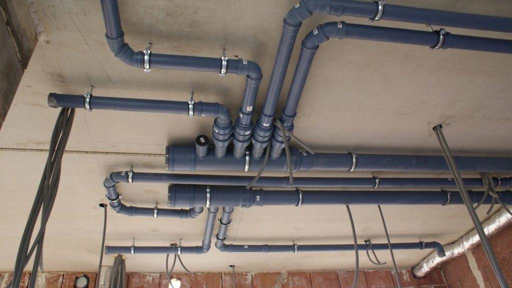 Installazione a soffitto VMC Bampi