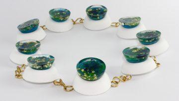 Dal cemento biodinamico nascono gioielli