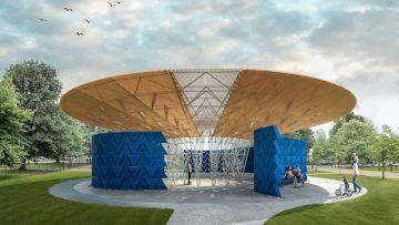 Come sarà il Serpentine Pavilion 2017 dell'architetto africano Francis Kéré