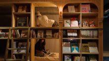 L'ostello libreria a Kyoto