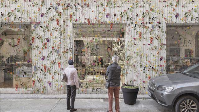 Al Salone 2017 Piuarch scommette sul giardino di facciata