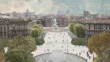 Concorso su Piazza Castello a Milano: il progetto vincitore e le reazioni
