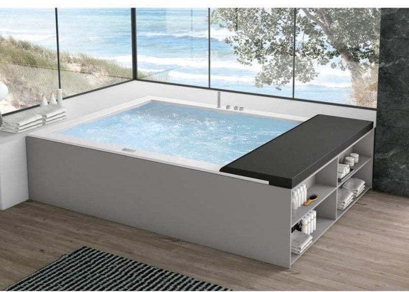 Una minipiscina in casa con la vasca idromassaggio minerva possibile - Piscina da interno ...