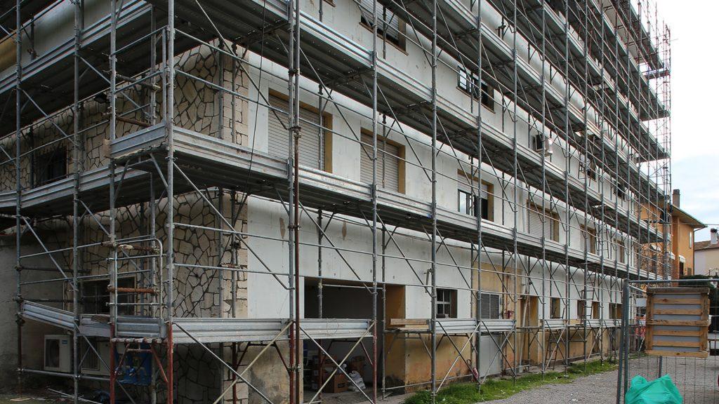 Sede del Comune di Capalbio, oggetto della ristrutturazione con Aeropan