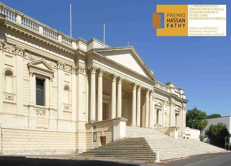 La facciata principale dell'Accademia Britannica - Foto: G. Losurdo, A. Palmieri