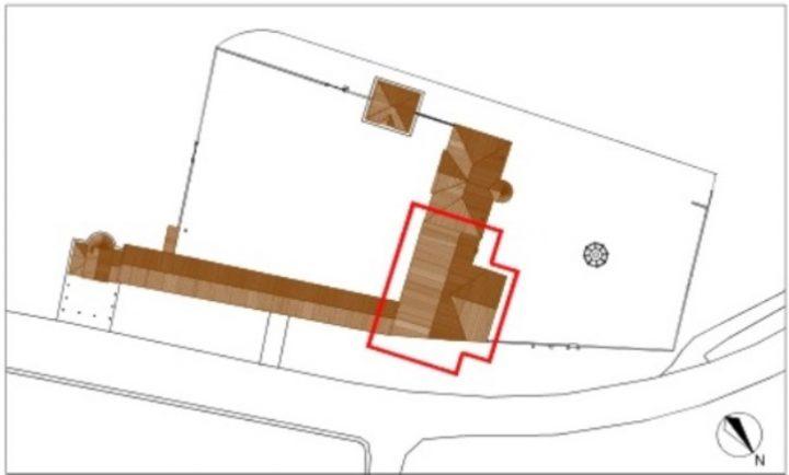 Planimetria della villa