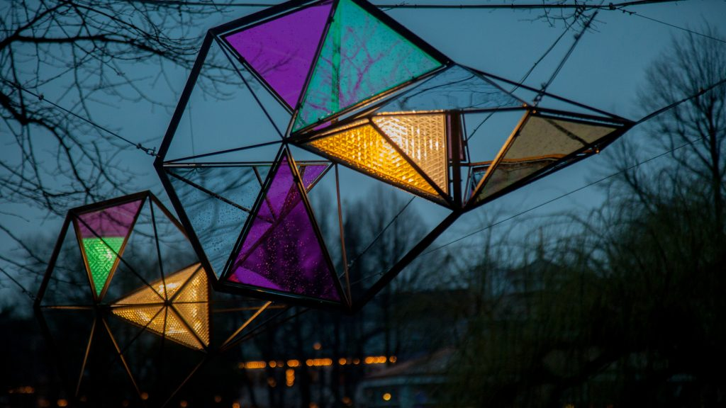 Little Sun Light Swarm by Olafúr Eliasson for Tivoli Copenhagen