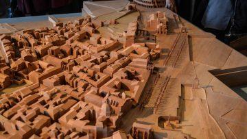 Il Quartiere Alessandrino di Roma rivive in un modello ligneo