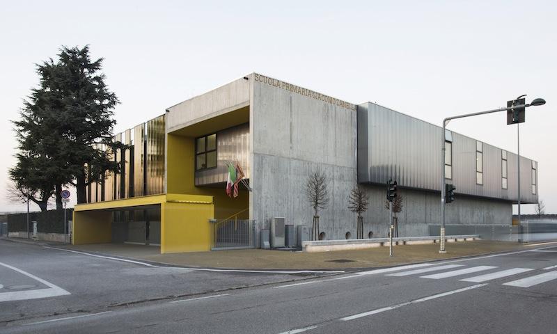 La nuova scuola Giacomo Zanella a Villafranca tra restauro e ampliamento © Nicolò Galeazzi