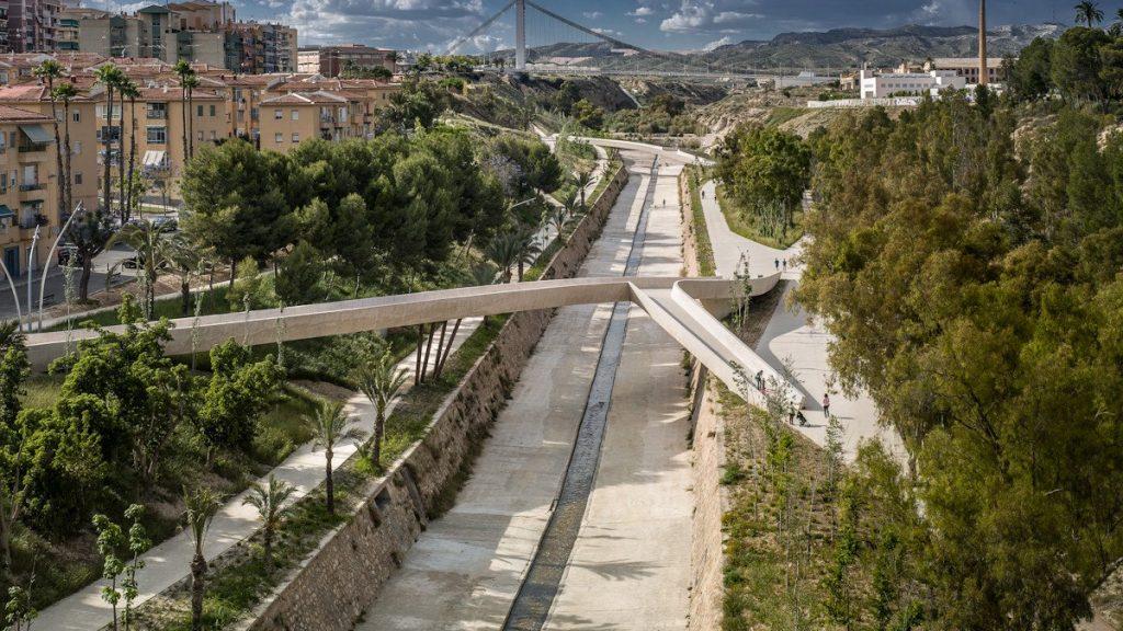 La valle intrecciata, progetto vincitore del Premio nell'edizione 2015 © Jesus Granada