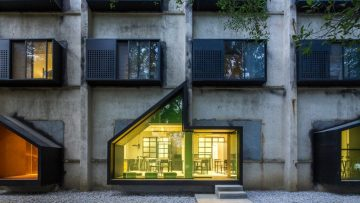 Rinnovamenti edilizi: l'iD Town Youth Hotel di O-office Architects