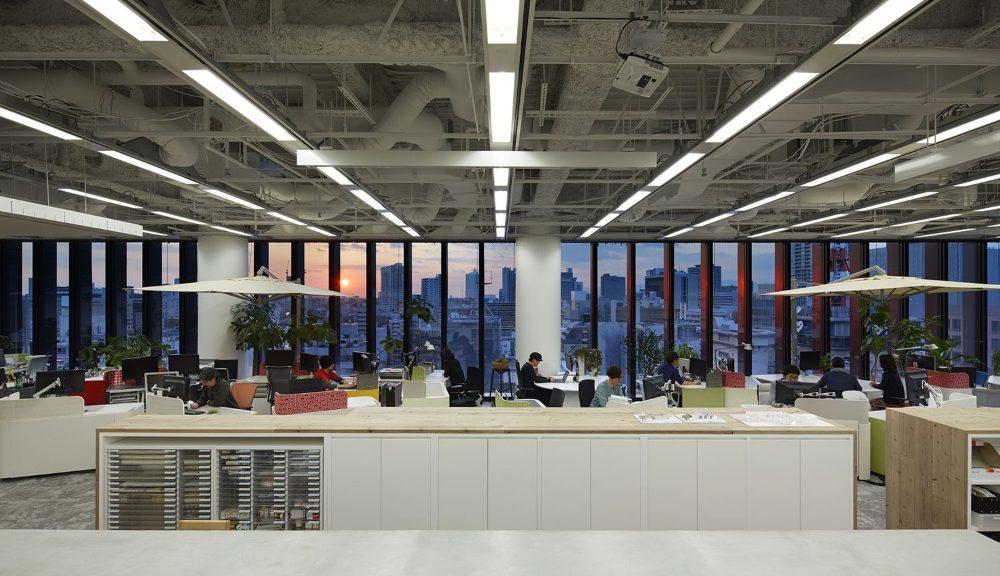 Come Arredare Un Ufficio Open Space : Olivetti synthesis come arredare un ufficio