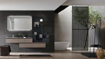 L'arredo bagno in stile industriale firmato Arcom si chiama Escape
