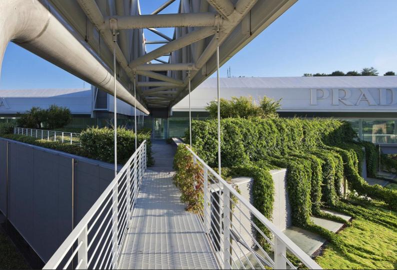 Prada Headquarters a Valvigna, progetto di Guido Canali © Alessandro Ciampi – Courtesy of Prada