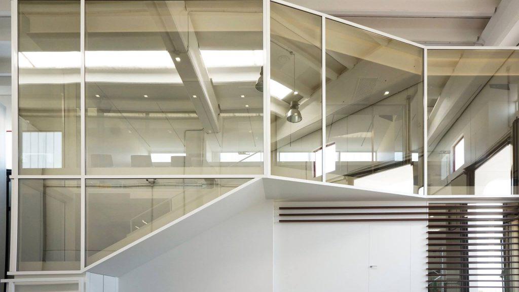 Ufficio Di Un Architetto : Lufficio come scatola nella scatola: michelangelo olivieri per