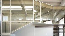 L'ufficio come scatola nella scatola: Michelangelo Olivieri per Menoventi