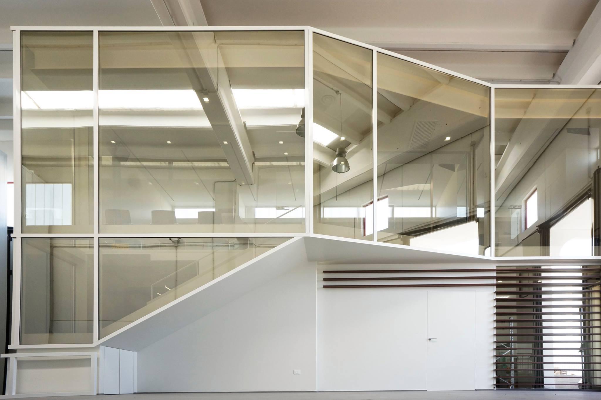 Ufficio Progetti Architetti Associati : Lufficio come scatola nella scatola: michelangelo olivieri per