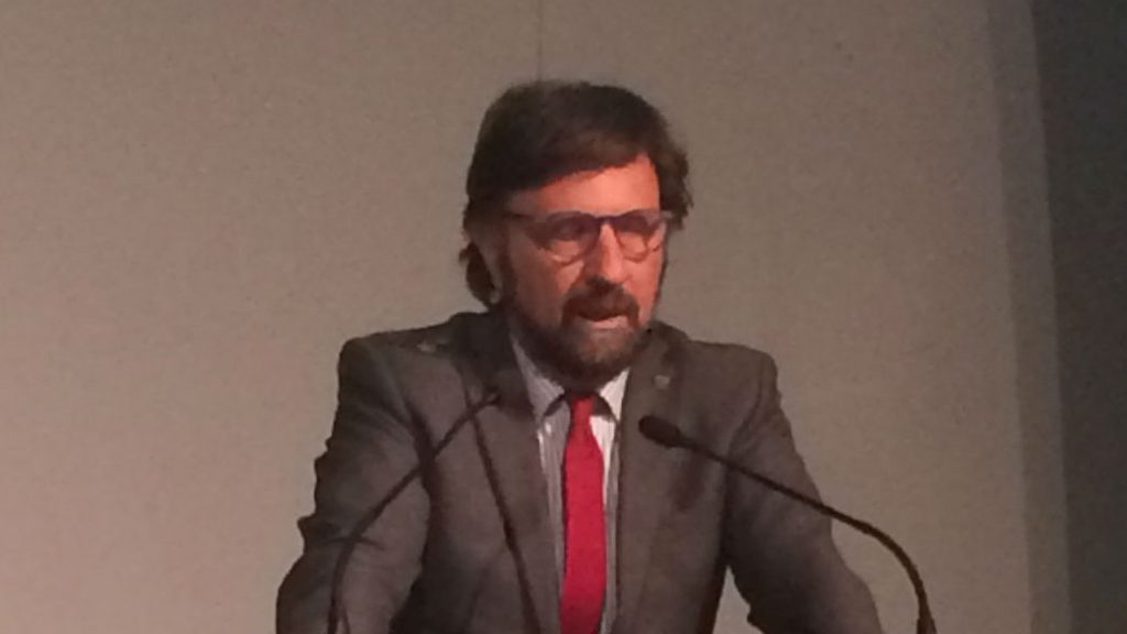 Alessandro Di Ridolfi, presidente dell'Ordine architetti di Roma e Provincia
