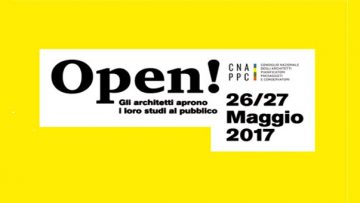 Studi di architettura aperti al pubblico il 26 e 27 maggio
