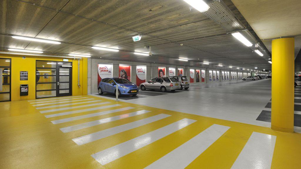Triflex Projoint per parcheggi a lunga durata