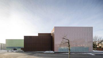 Il Vendsyssel Theatre di SHL Architects in Danimarca