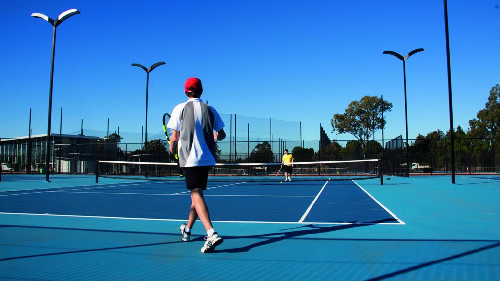 Campi da tennis del Carrara Gardens