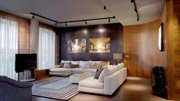 Residenze Hadid a City Life: legno, tappeti e design iconico per un lussuoso interno