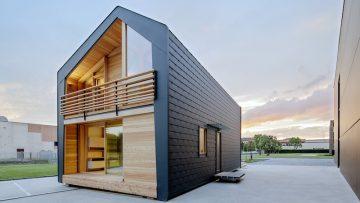 LeapHome lancia Frame: un modello di casa in legno ad alte prestazioni