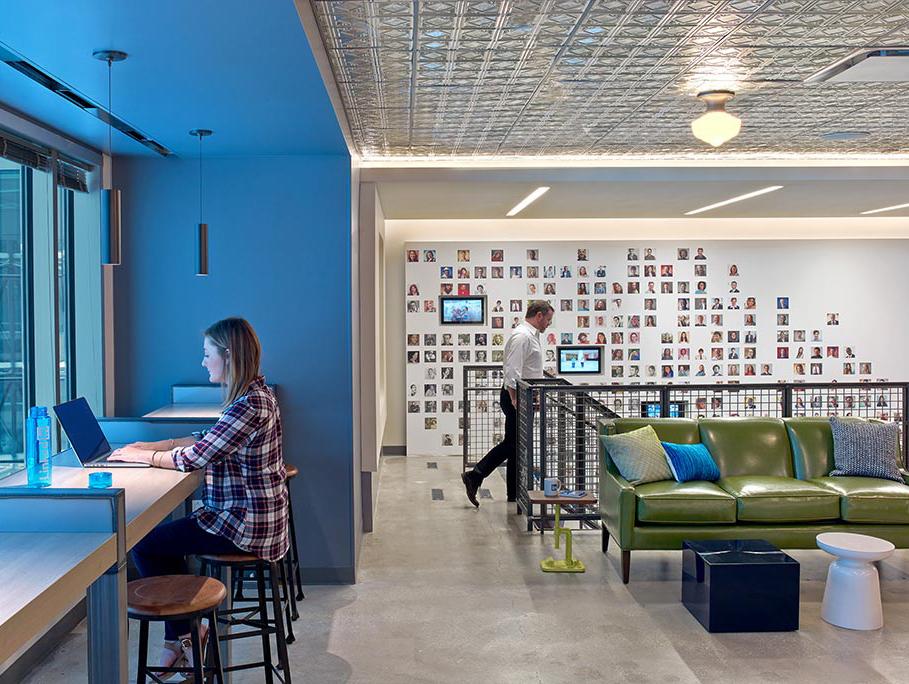 LinkedIn Chicago, spazi comuni