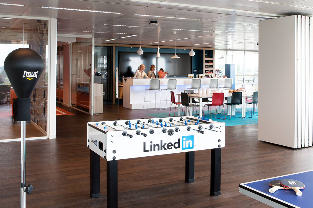 LinkedIn Amsterdam, aree gioco © Lensvelt