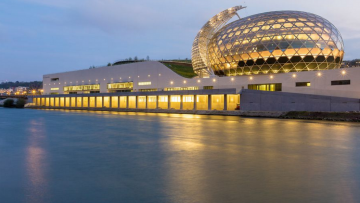 Com'è Seine Musicale, il grande polo musicale di Shigeru Ban e Jean de Gastines