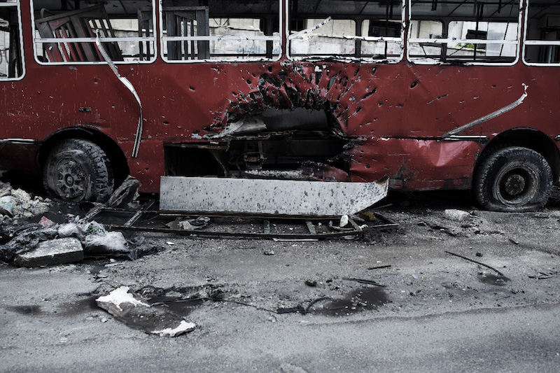 """Un altro degli scatti di """"Syria In/Out"""", la mostra fotografica di Alessio Romenzi e Luca Solain concomitanza con il workshop Iuav dedicato alla Siria"""
