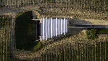 Architettura del vino: Renzo Piano BW per Château la Coste