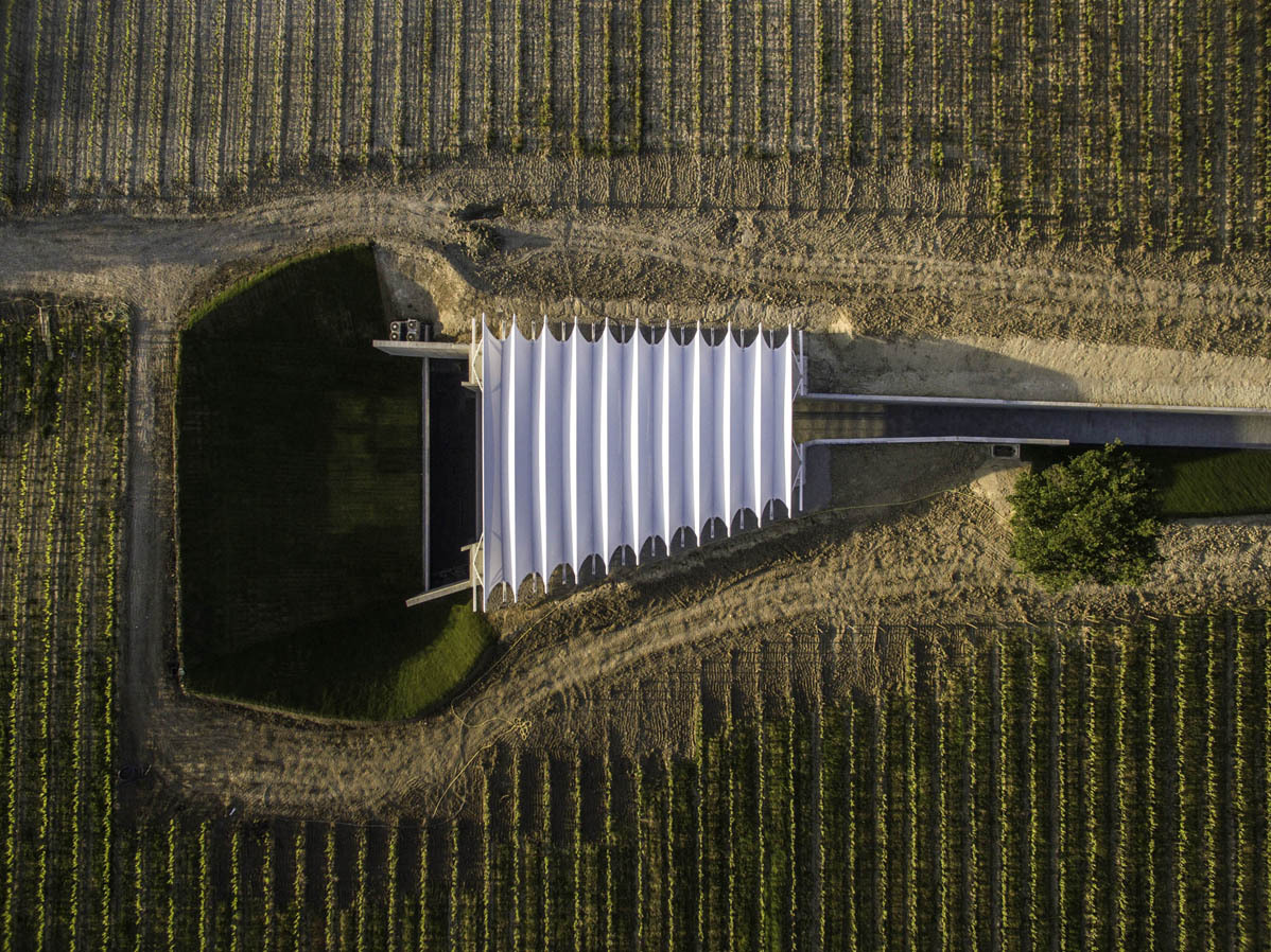 Architettura Del Vino Renzo Piano Bw Per Ch 226 Teau La Coste
