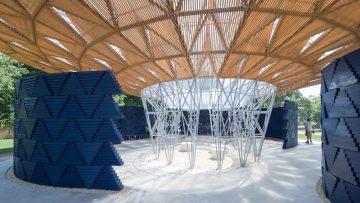 Com'è il Serpentine Pavilion 2017 di Francis Kerè