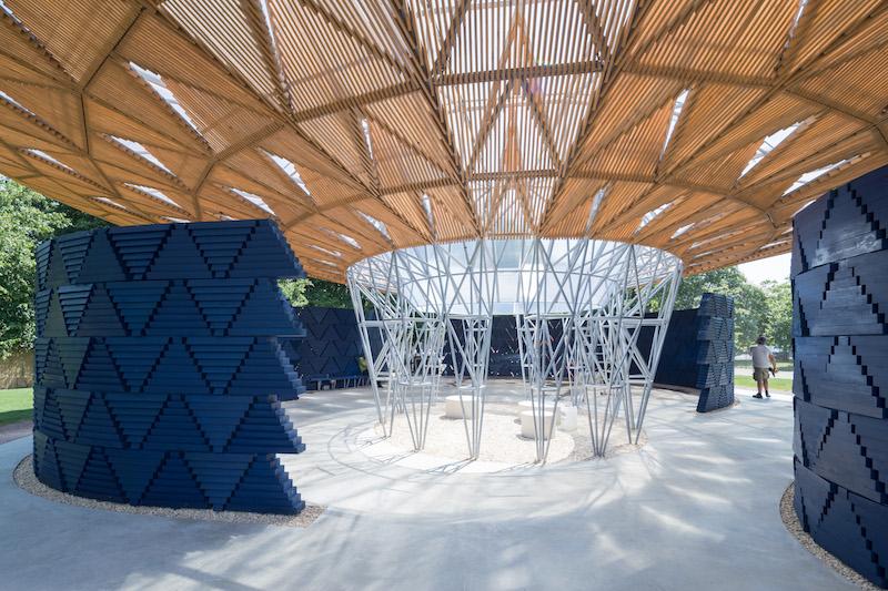 Serpentine Pavilion 2017, designed by Francis Kéré © Kéré Architecture, Photography © 2017 Iwan Baan