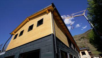 La nuova Casa del Rugby di Sondrio è un impianto sportivo efficiente e sostenibile