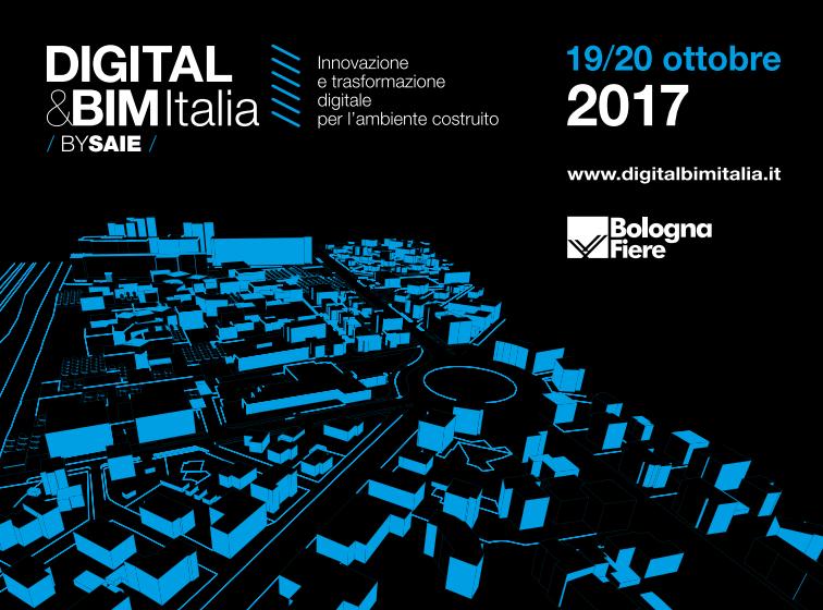 DIGITAL&BIM, 19 e 20 ottobre 2017
