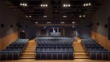 Le sedute del restaurato Teatro Piceno