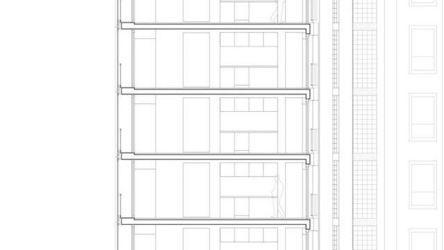 Architettura mimetica: l\'edificio di rue Championnet di Chartier ...