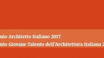 Architetto italiano dell'anno 2017: aperto il bando