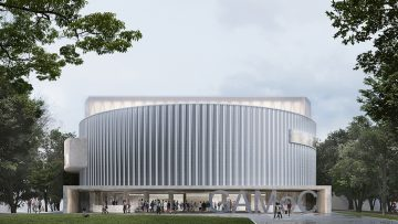 La nuova GAMeC di Bergamo secondo C+S Architects