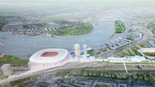 Come sarà Feyenoord City, maxi riqualificazione progettata da OMA