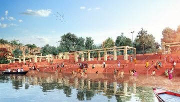 "Rigenerazione territoriale in India: ""A river in need"" di Morphogenesis"